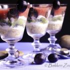 Fruitige trifle met aardbeien en yoghurt