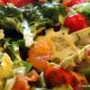 Frisse salade met bloedsinaasappels